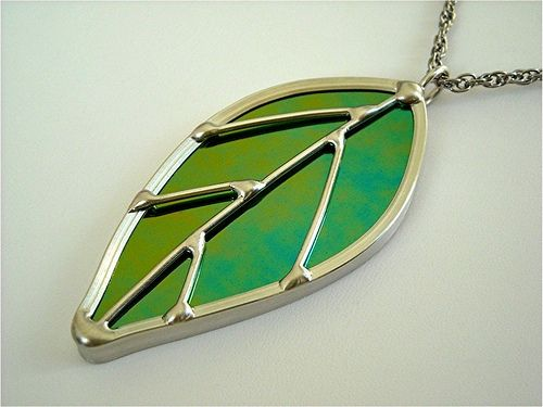 Stained glass leaf pendant leaf pendant leaves and glass stained glass leaf pendant aloadofball Gallery