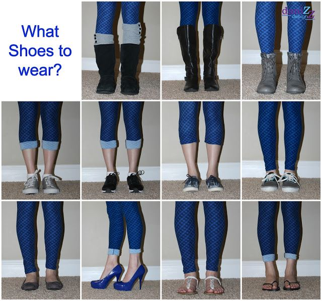 fe5e3aad39 LulaRoe Leggings paired with shoes - 11 plus different shoes to wear with  leggings
