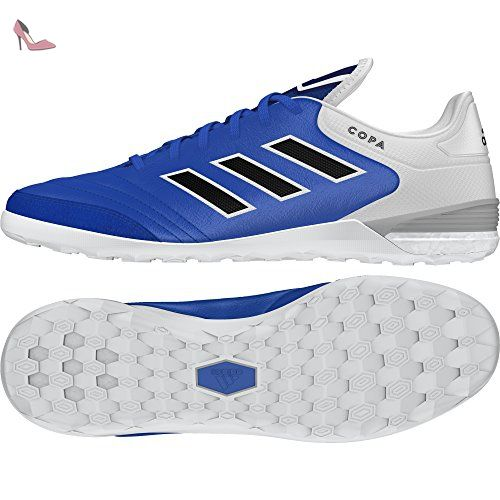 adidas Copa Tango 17.1 in, pour Les Chaussures de Formation de Football Homme, Bleu (Blu Azul/Negbas/Ftwbla), 41 EU