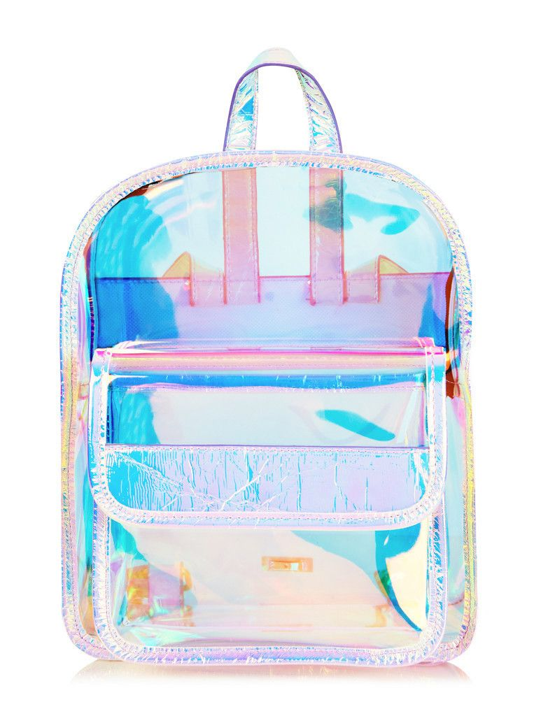 holographic backpack of my dreamz. skinnydip. 60816dda25a58
