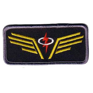 """Space: Above and Beyond - Angry Angels 3.5"""" Patch"""