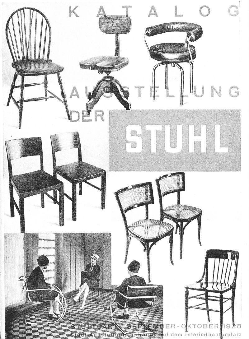 Der Stuhl Stuttgart Designerstuhle In Einer Zeit Bevor Es
