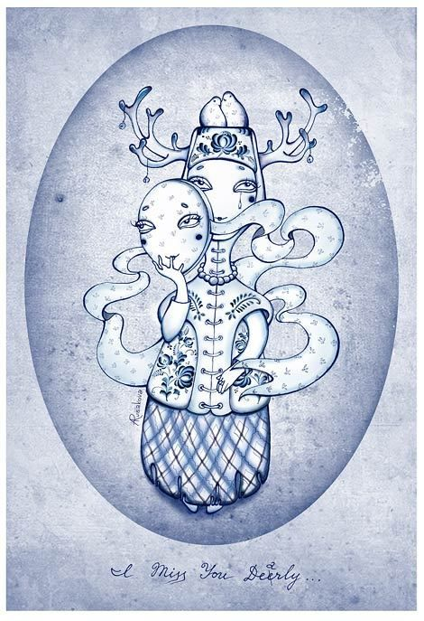 From Nothing to Something by Anna Rusakova, via Behance