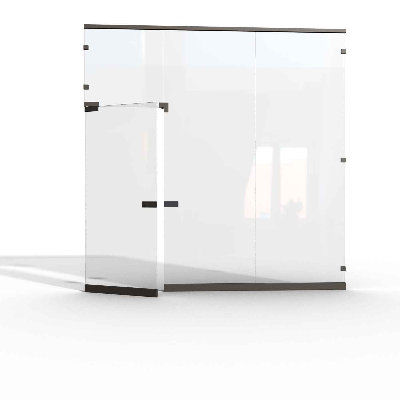 Glass Wall Office Partitions Office Furniture Ideas For New