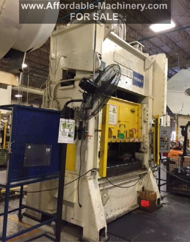 150 Ton Blow Metal Stamping Punch Press For Sale | Machinery