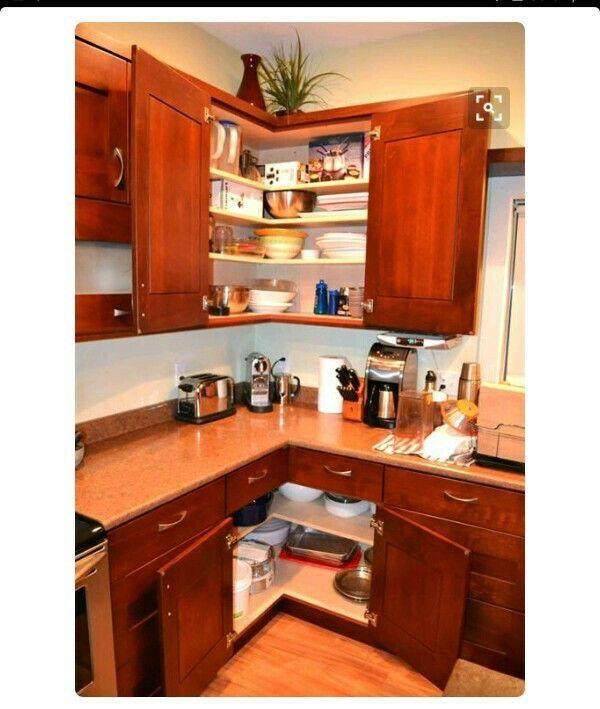 Pin de ismo en cocina muebles de cocina esquineros for Muebles de cocina en esquina