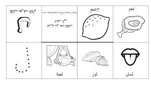 كتب الحروف الأبجدية العربية مطبخ دكتورة لورا Arabic Alphabet Alphabet Book Arabic Alphabet For Kids