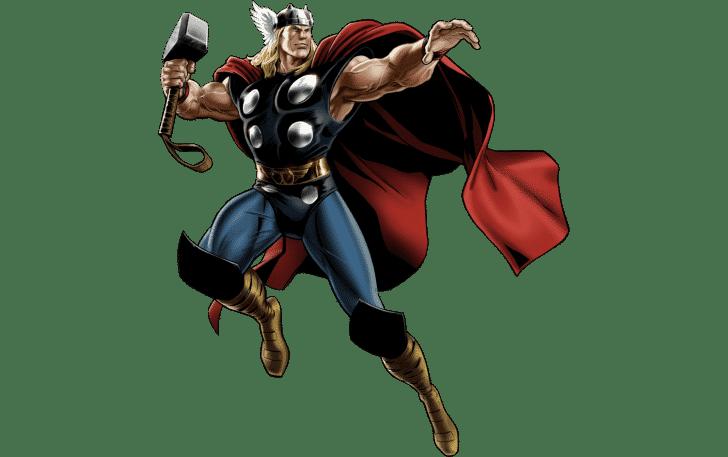 Thor Cartoon Marvel Msitteli Komiksy Marvel Geroi Marvel