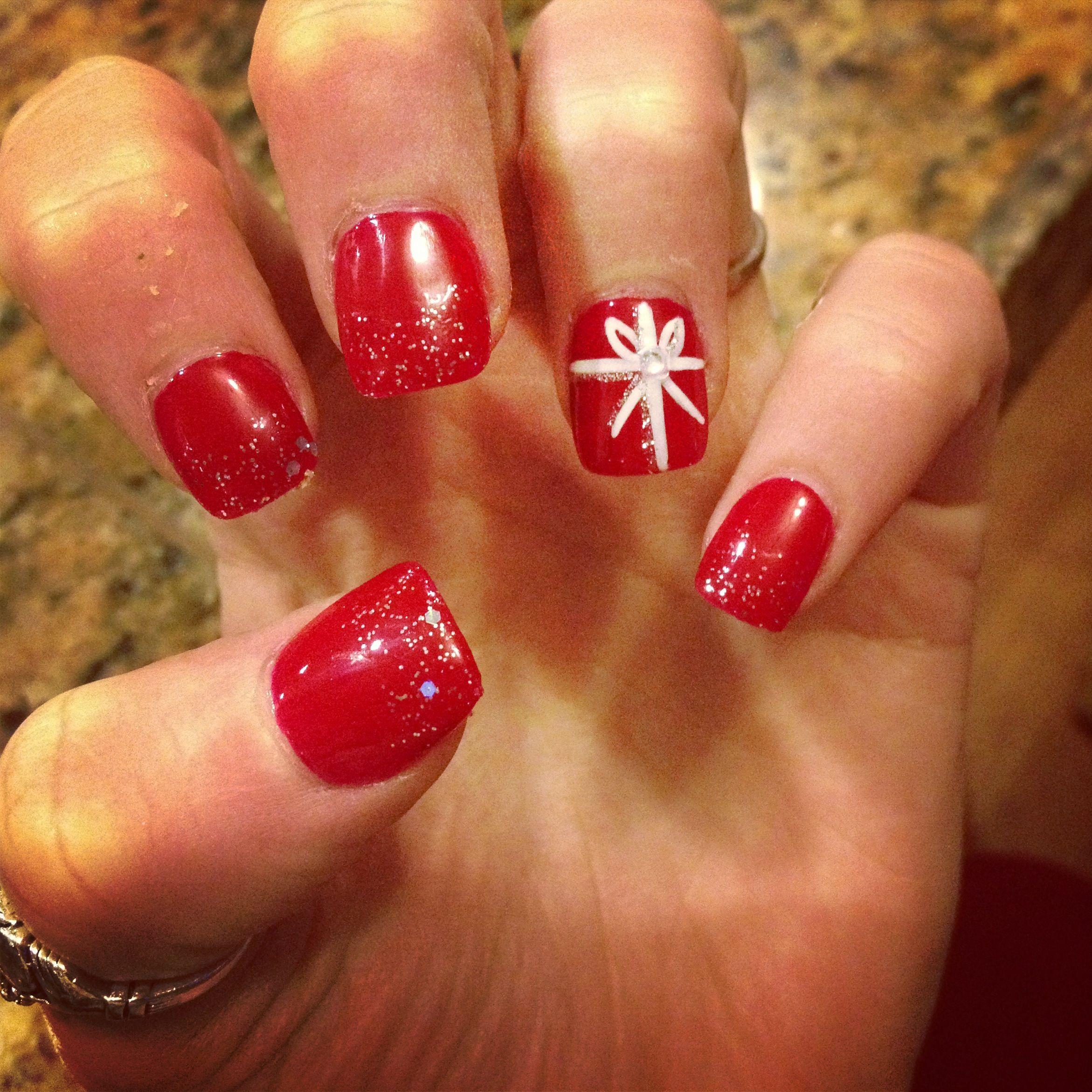 Christmas nails :)