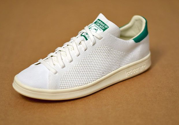The classic look of the Stan Smith gets upgraded with Primeknit  construction. Peep the adidas Original Stan Smith Primeknit OG Pack.