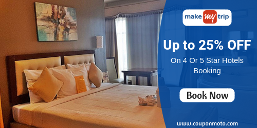 Get 25% discount on International Hotels Booking  Enjoy the discount