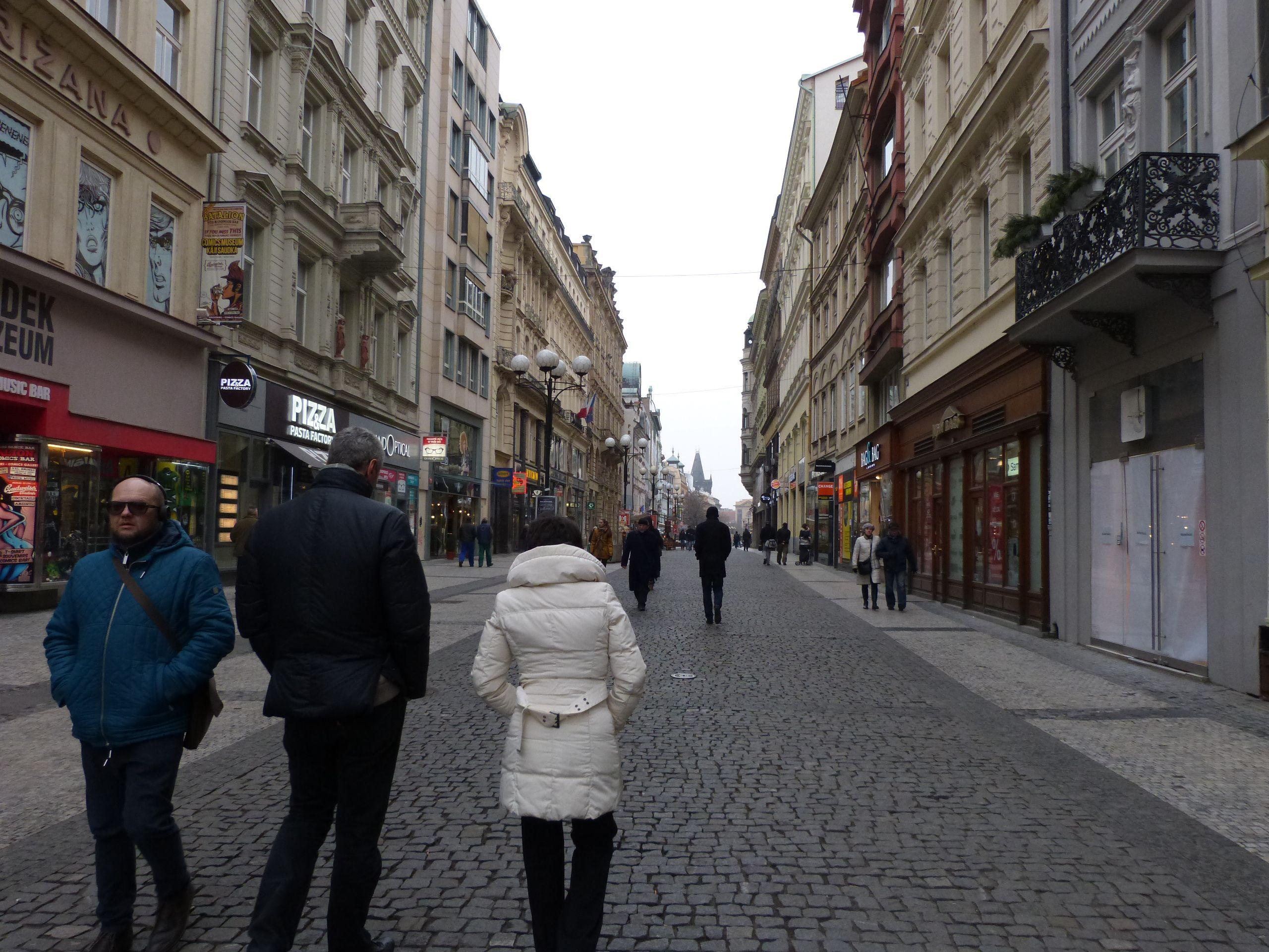 Camminando per Praga