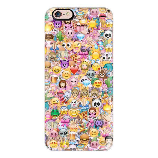 Iphone 6 Plus 6 5 5s 5c Case Emoji Full Emoji Phone Cases Apple Iphone Case Iphone 6 Cases Clear