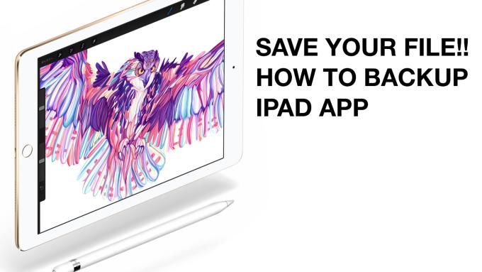 アプリを削除したら元には戻らない!ProcreateなどiPadお絵かきアプリでの不具合対処法とバックアップのすすめ | iPad Creator