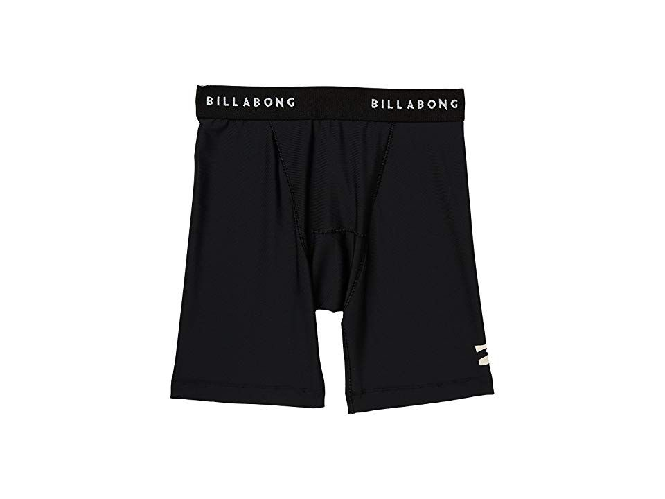 Billabong All Day Undershorts Black Heather Mens Swimwear A comfortable pair of undershorts thatll keep the sand at bay and you moving so you can tackle surf and sun Perf...