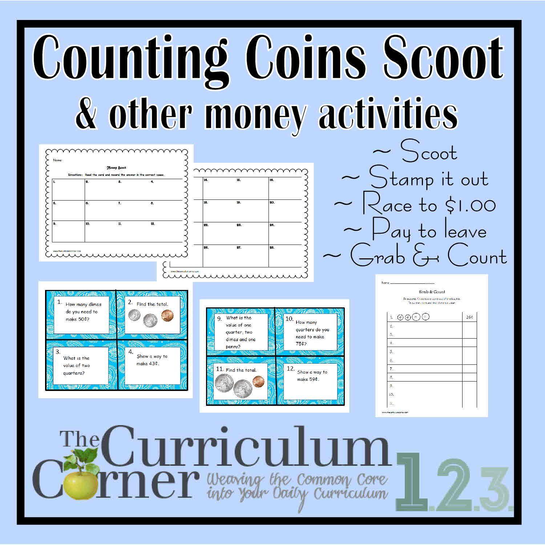 Counting Money Activities