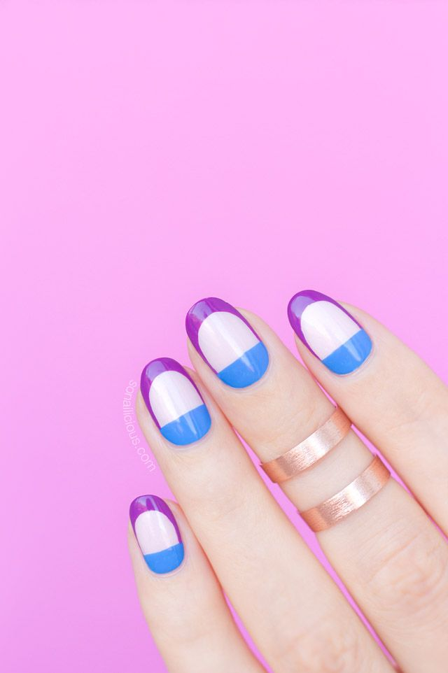 Edgy spring nail art tutorial spring nails manicure and nail nail edgy spring nail art tutorial solutioingenieria Image collections