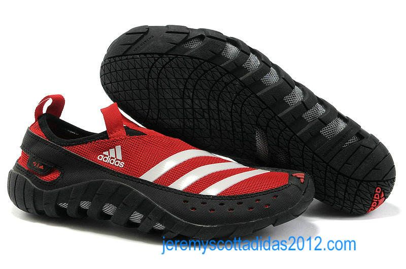 9af6f821192 Adidas Jawpaw 2 2012 Sport Red White Mens Water Grip Shoes