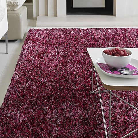 Durable quality meets a soft lustrous pile and lovely colour in the Orlando Shag Rug from Rug Culture, the perfect rug to accent any room.