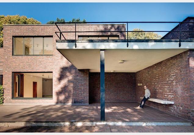 Villa Mies Der Rohe lange house mies der rohe zoeken architecture