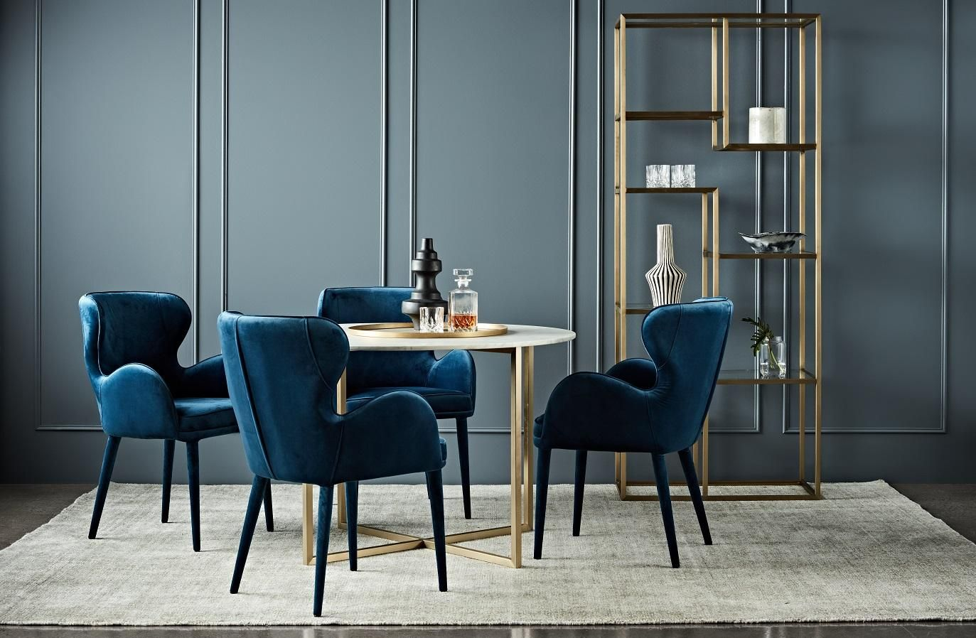 GlobeWest - Daphne Dining Arm Chair | Dining Room | Pinterest ...