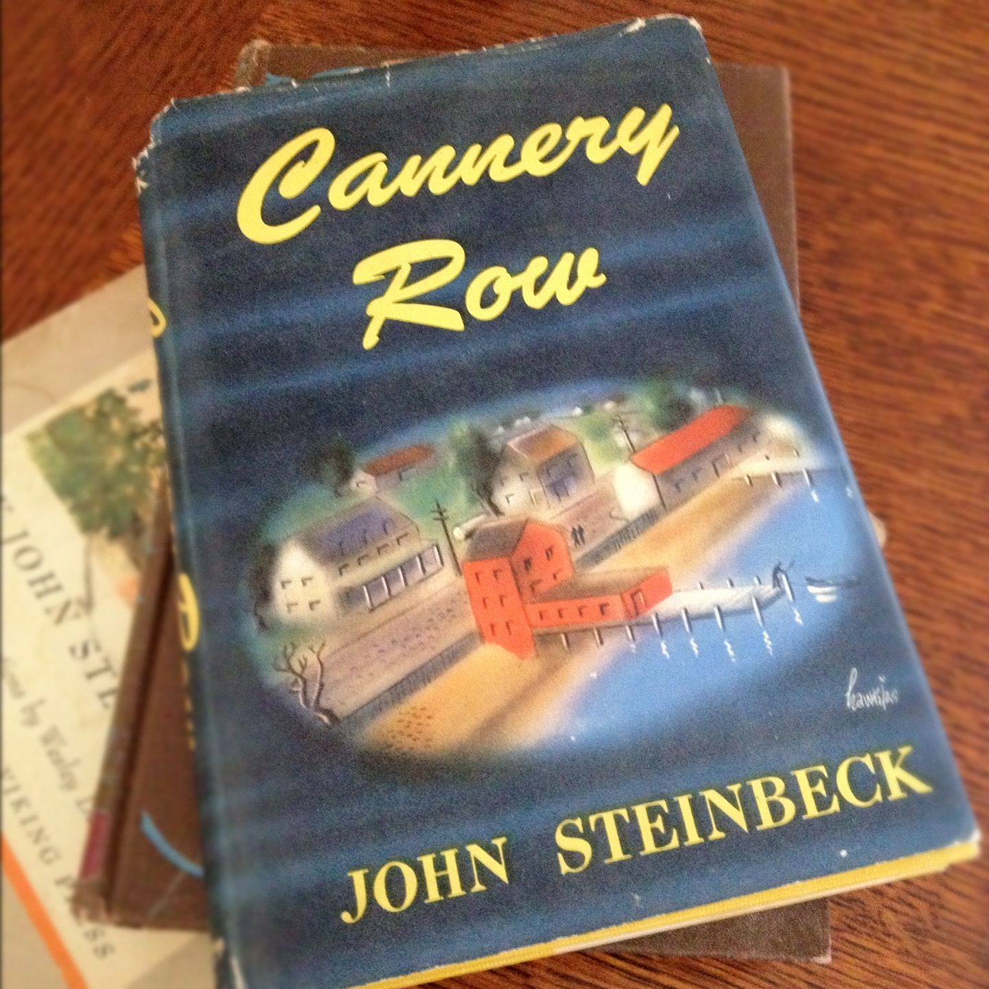 First Edition Copy Of Cannery Row By John Steinbeck Ring True Essay