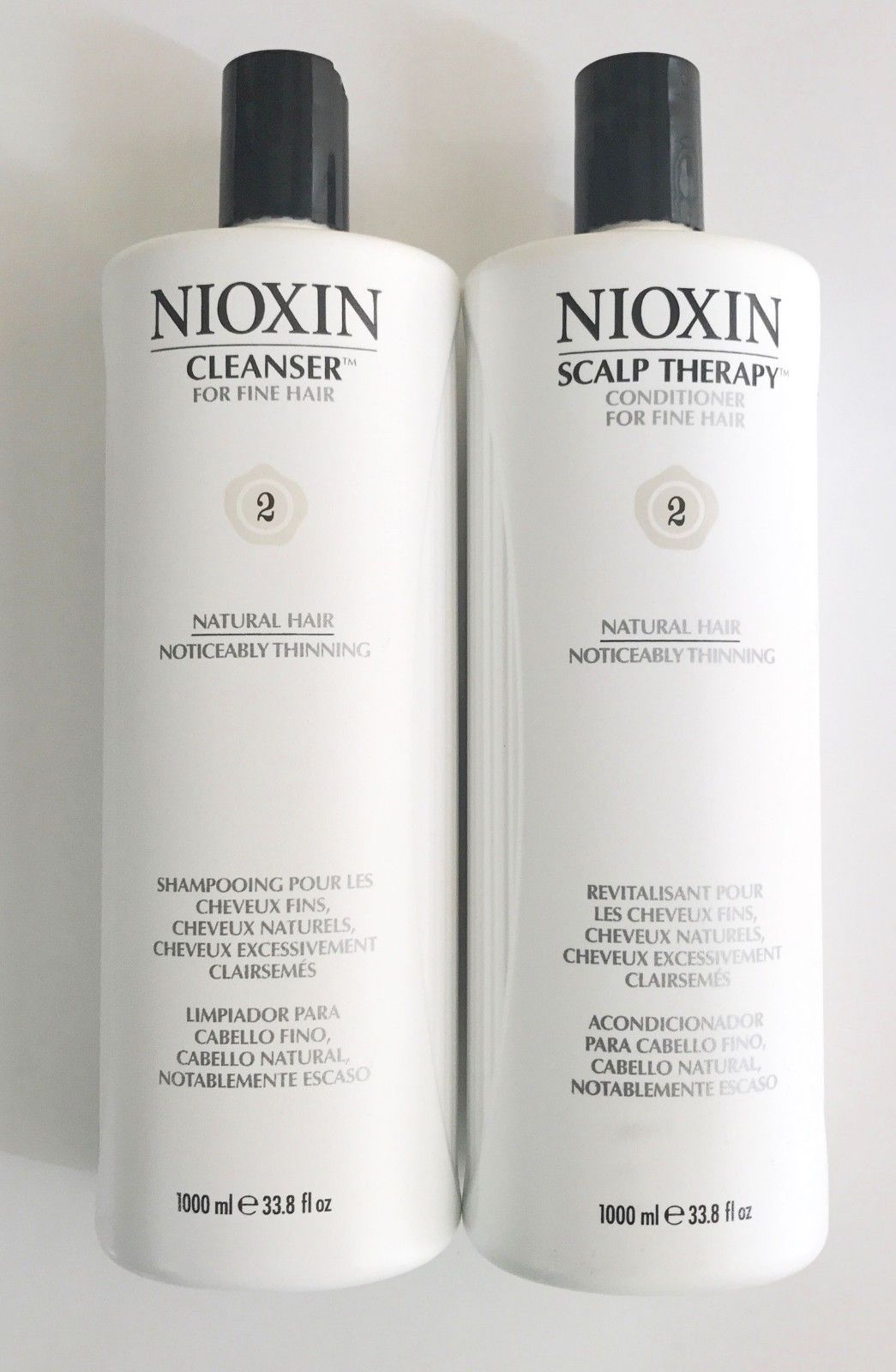 Hair Loss Treatments Nioxin System  Cleanser Scalp Therapy Duo Set