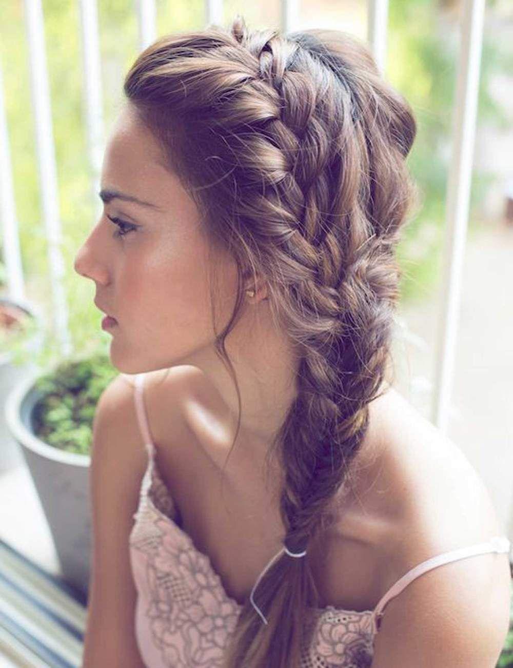 idées coiffures pour cheveux longs Beauty Side braid