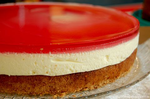 Norwegian Confirmation Their Cheesecakes Usually Have A Layer Of Cake On The Bottom Cheesecake
