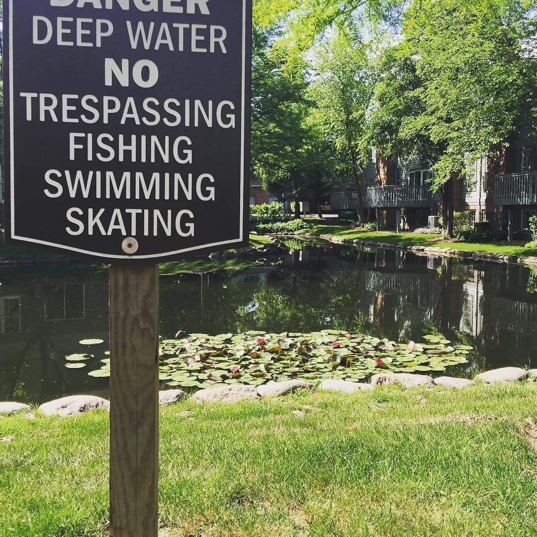 What about floating? The sign doesn't say anything about not floating.  #rulebreaker #lazysummer