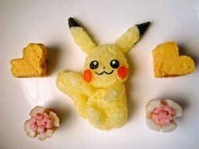 「キャラ弁☆ピカチュウおにぎり」macha | お菓子・パンのレシピや作り方【corecle*コレクル】