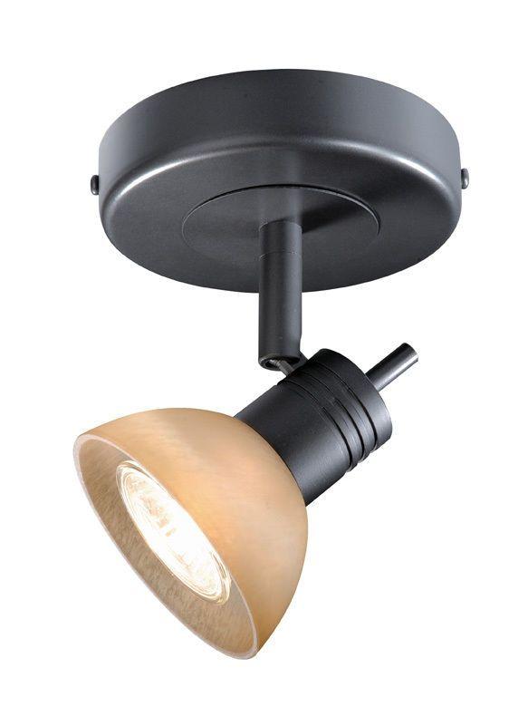 1 LIGHT TRACK SPOT COMO LAMP DARK BRONZE LIGHTING NEW ...