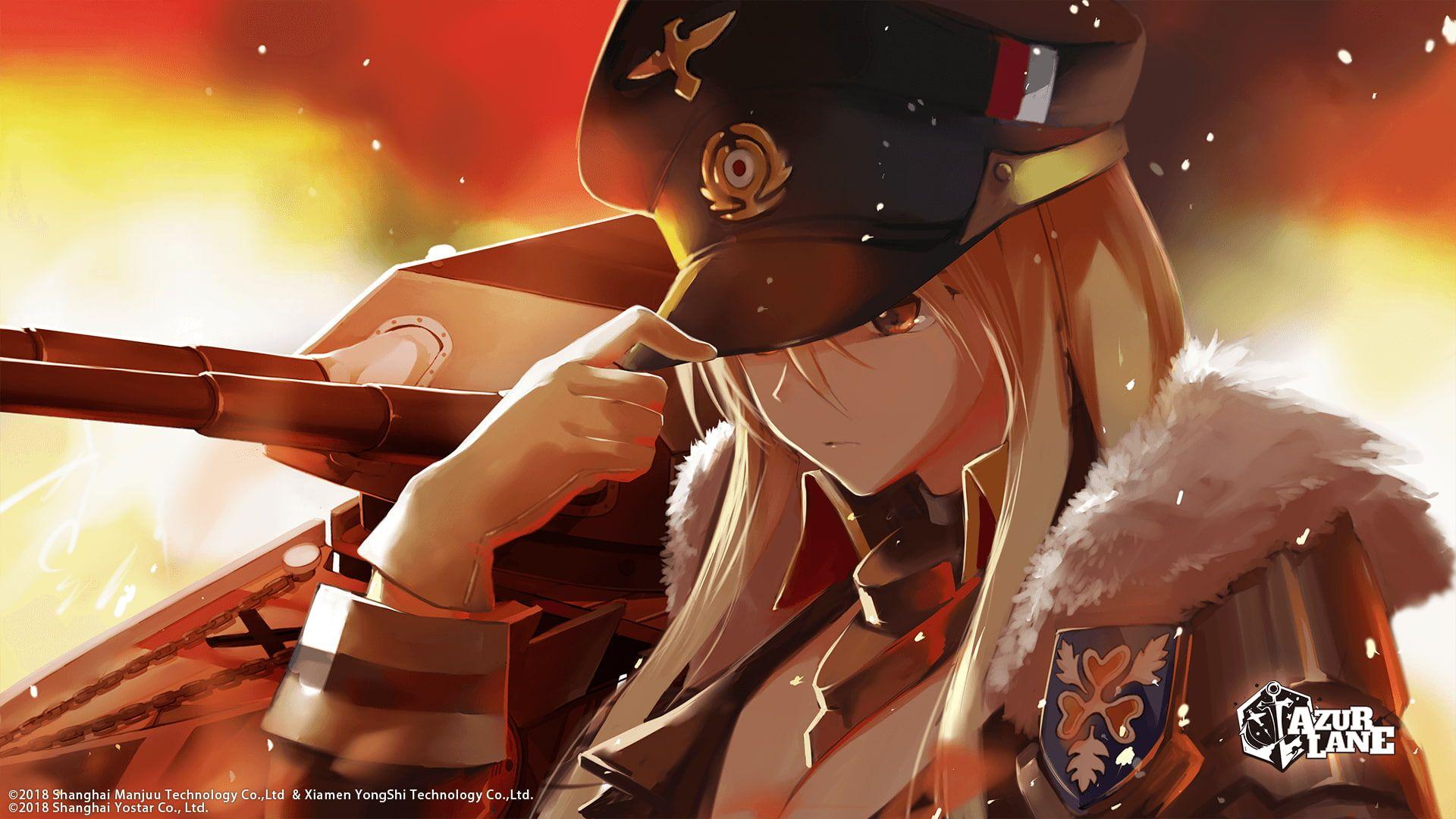 Video Game Azur Lane Anime Bismarck Azur Lane 1080p Wallpaper Hdwallpaper Desktop Hipster Pictures Anime Background Images