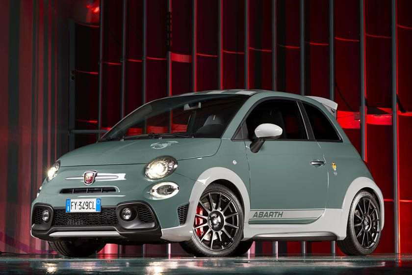 Special Edition Fiat 500 Abarth Gets Huge Spoiler With Images