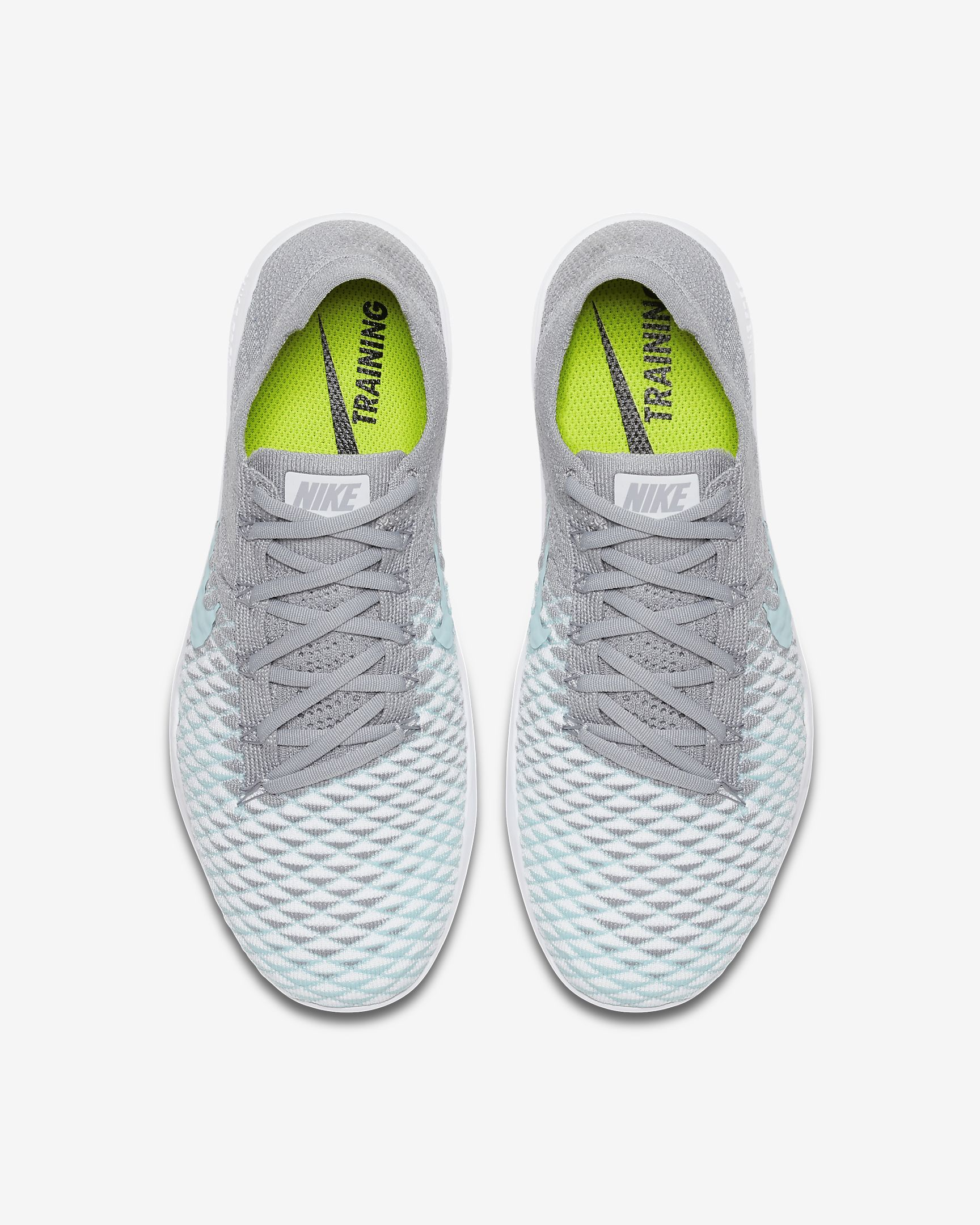 size 40 15a87 15895 NIKE FREE TR FLYKNIT 2 in Wolf Grey Glacier Ice
