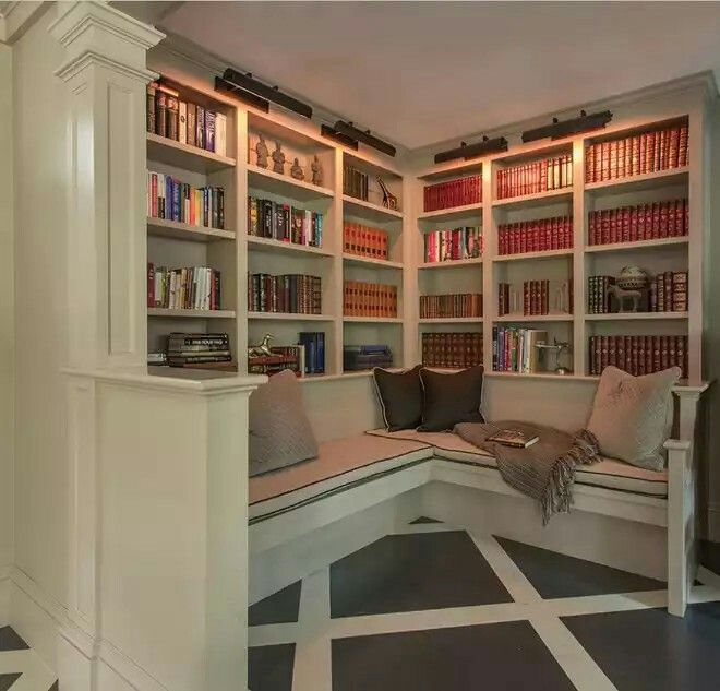 37 Home Library Design Ideas With A Jay Dropping Visual: Pin By Alyssa Mitchell On Stuff For The Home In 2019