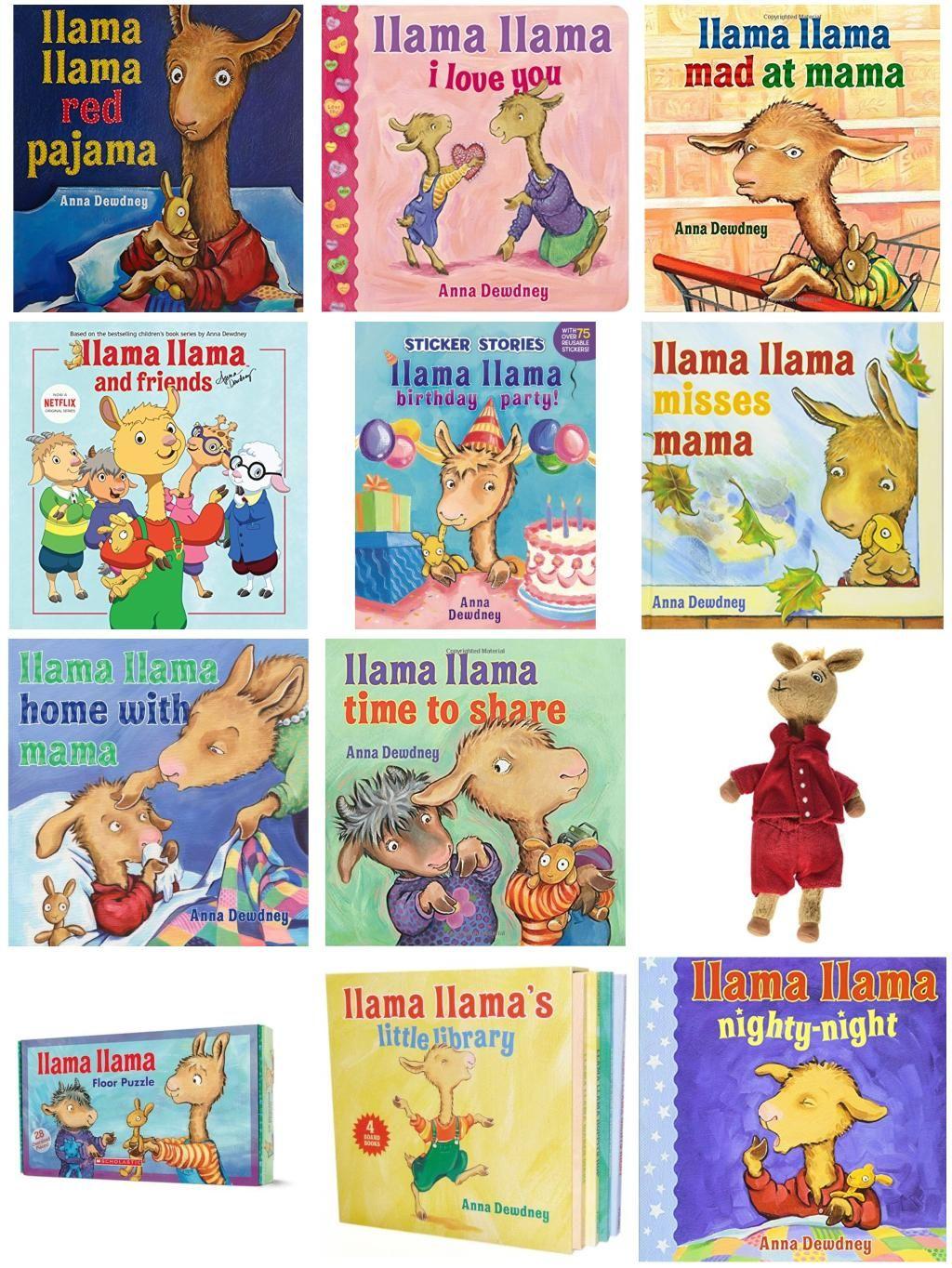 12 Books And Ts For Llama Llama Lovers