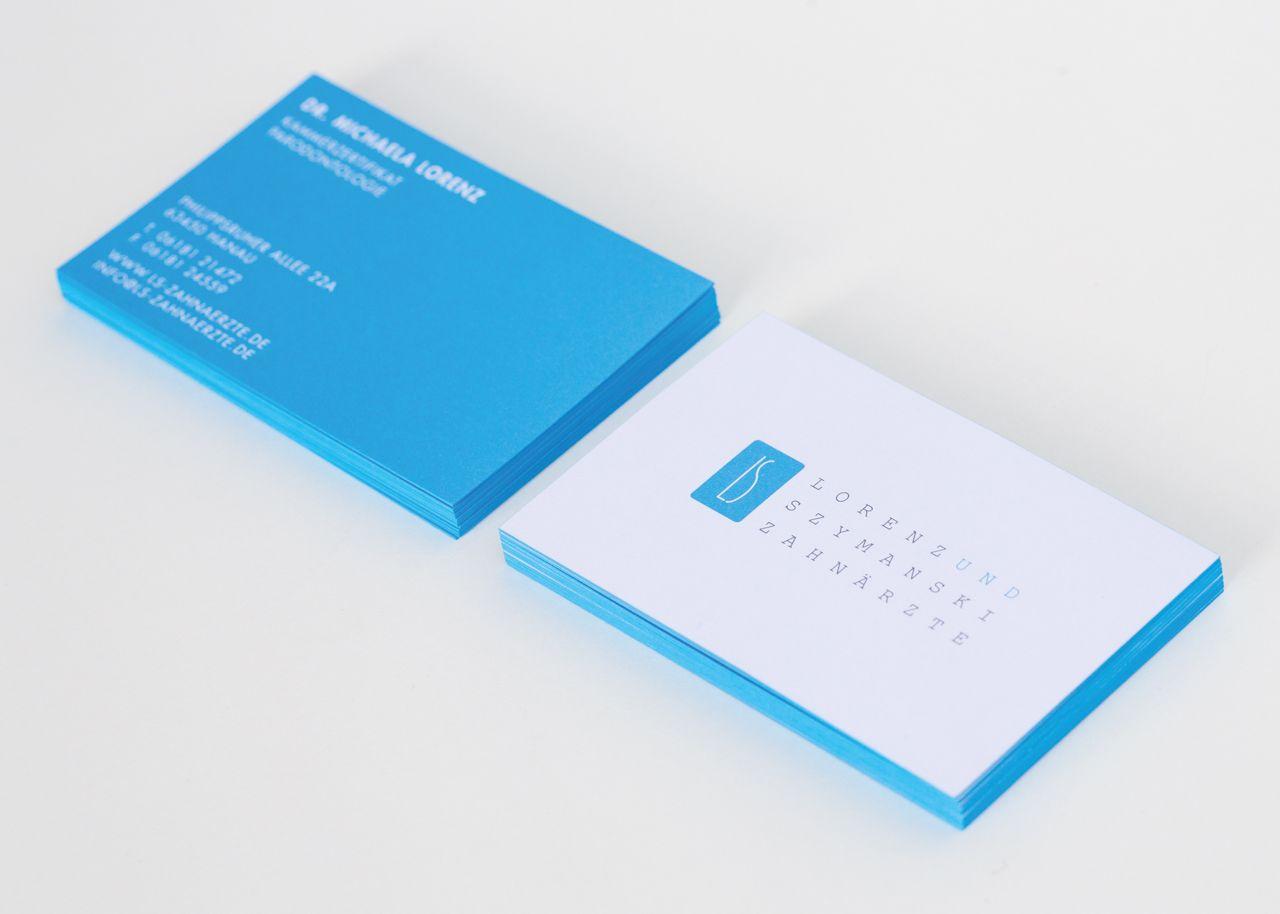Grafikdesigner Frankfurt Visitenkarten Druckveredelung