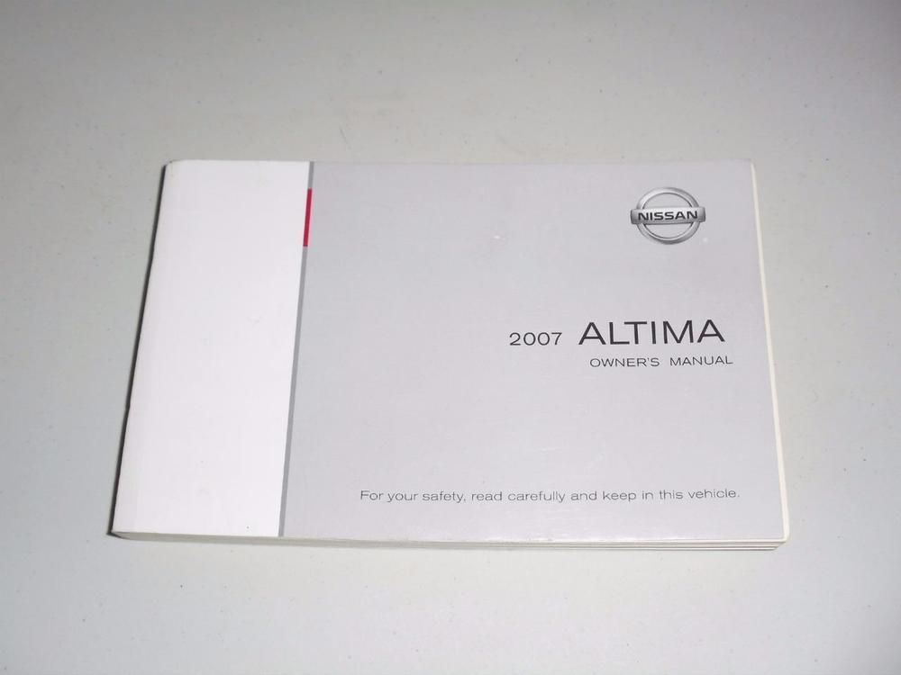 2007 nissan altima owners manual book guide owners manuals rh pinterest com nissan altima owners manual 2017 2007 nissan altima owners manual pdf