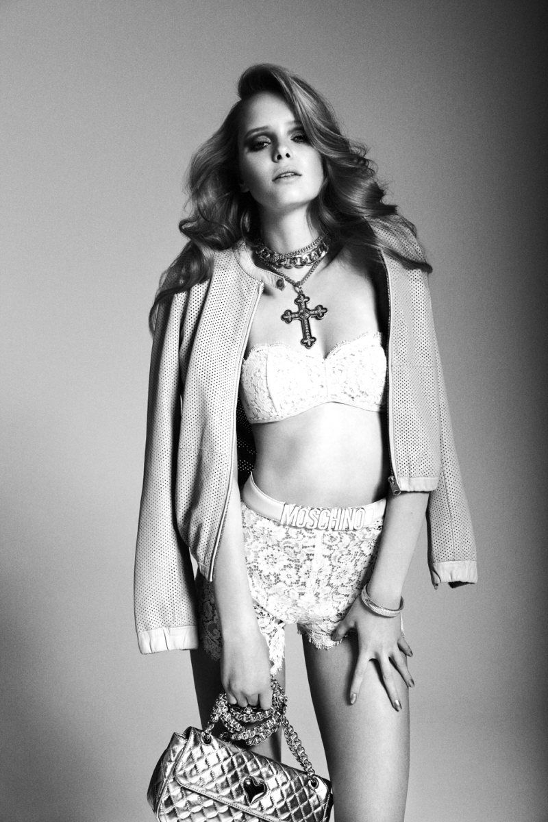 Masha Markina by Richard Bernardin for Dress to Kill Magazine Spring 2012
