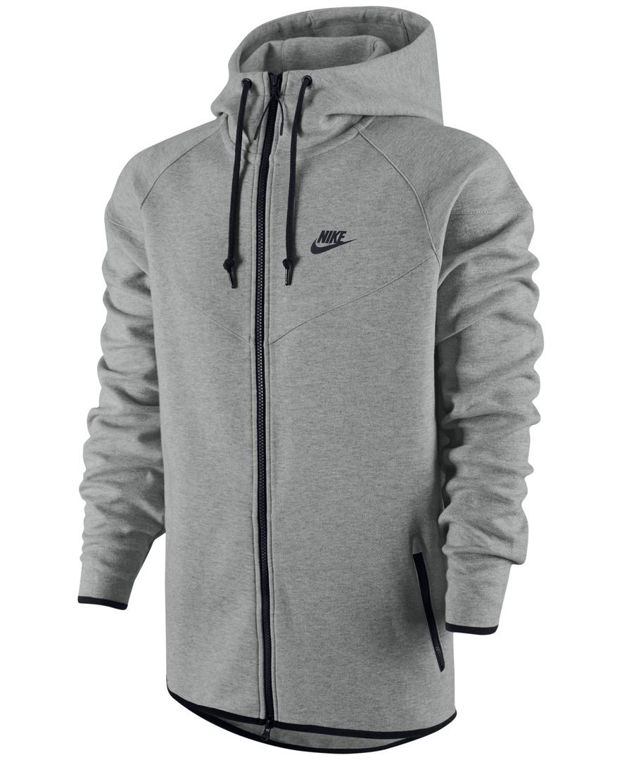 Nike Windrunner Fleece Performance Full-Zip Hoodie - Hoodies U0026 Sweatshirts - Men - Macyu0026#39;s ...