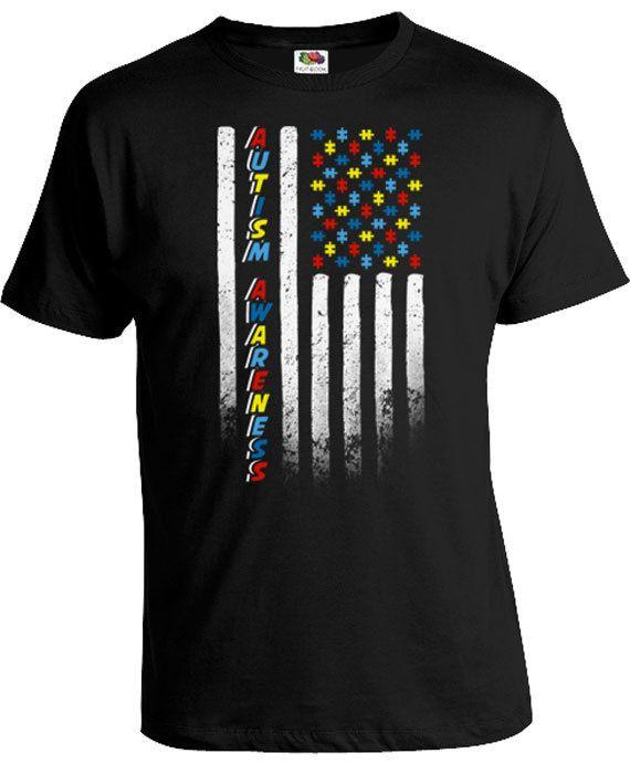 9524032d9 Autism Shirt Puzzle Piece Autism Aware T Shirt World Autism Day ...
