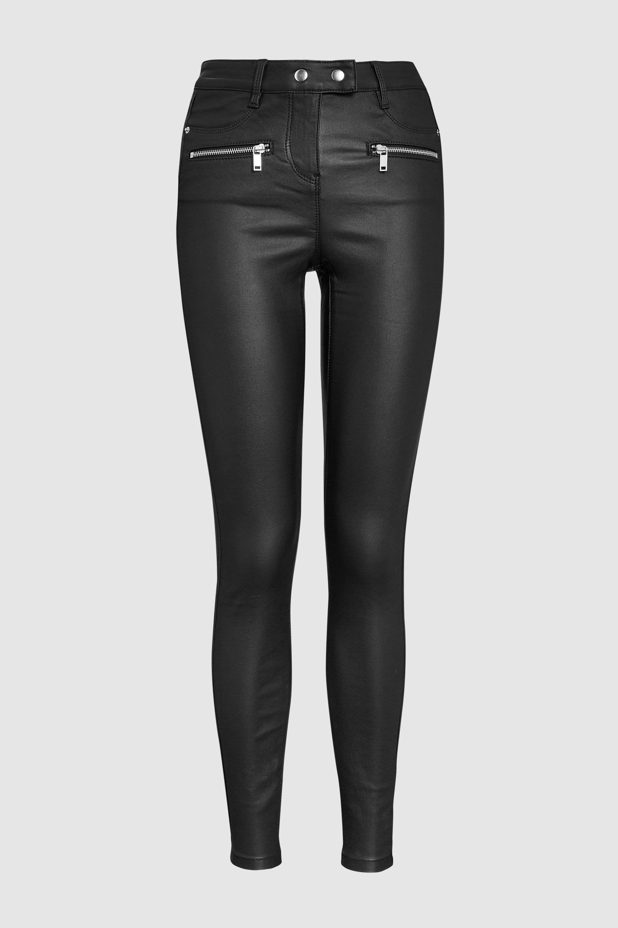 9b4255140be Женские брюки с кулиской из костюмной ткани темно-синие