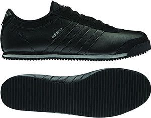 Men's Adidas Neo Runneo Zetroc Low Profile Fashion All Black Q26367 Sz 9 14   eBay