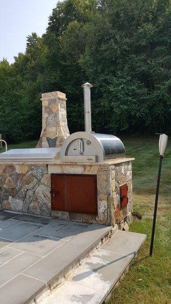 Ilfornino F Series Mini Basic Stainless Steel Wood Fired Pizza Oven Ilforninominifseries Woodfiredoven Ilforninonewyork Woodfiredpizzaoven