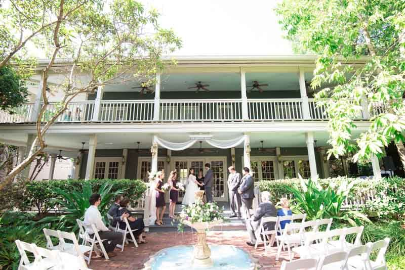 Downtown Orlando Wedding Venue - Intimate Courtyard at Lake Lucerne ...