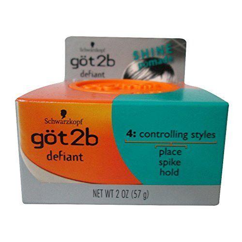 Göt2b Stackable Defiant Shine Pomade 2 Oz (3 Pack)
