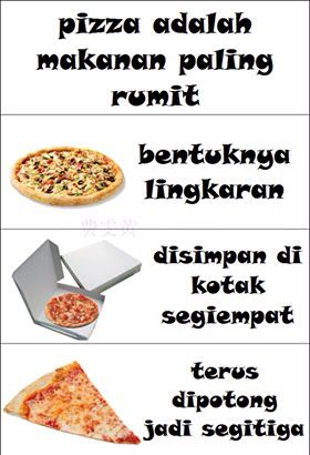 Pizza Makanan Paling Rumit Lucu Bijak Makanan