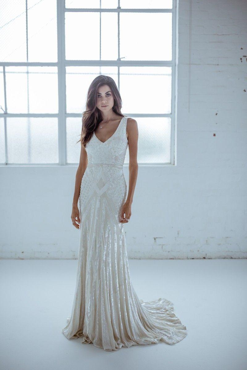 Wedding Dress KAREN WILLIS HOLMES Wedding dresses wellington ...