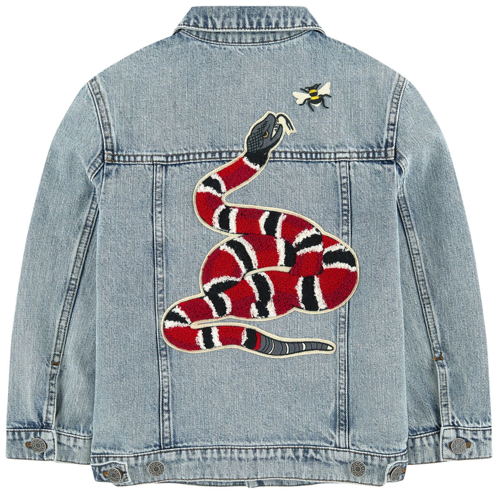 Gucci Jean Jacket With Fancy Patches Gucci Jacket Jackets Gucci Jean Jacket [ 1600 x 1600 Pixel ]